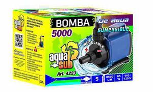 Bomba de agua sumergible 8500 l/h 5m regulable 85w 4223