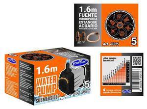 Bomba de agua sumergible acuarios fuentes 1.60 m 6005