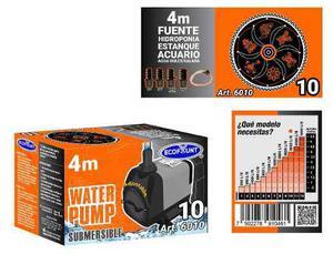 Bomba de agua sumergible acuarios fuentes 4.0 m 6010