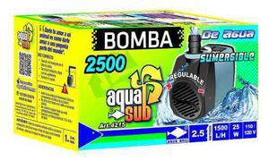 Bomba de agua sumergible aquakril 1500 l/h 2.5 m 25 w 4215