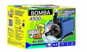 Bomba de agua sumergible aquakril 7500 l/h 4.5m 75w 4222