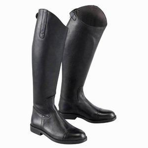 Botas equitación tipo federica piel negro fouganza original