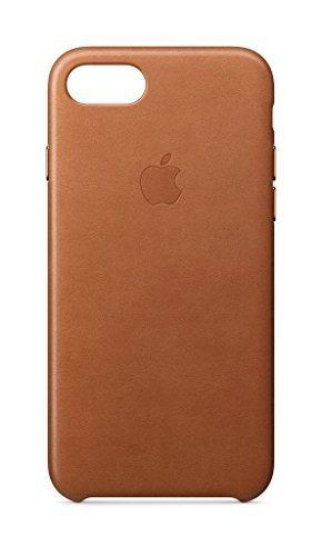 Caso cuero manzana iphone cuero - silla de montar marrón