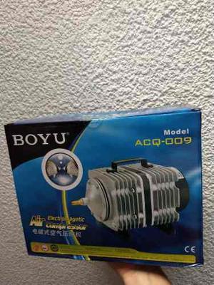 Compresor bomba de aire boyu acq-009 estanque acuario