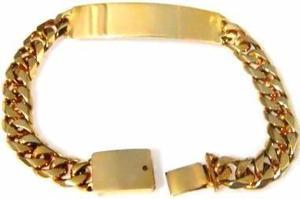 81de938f40c8 Gruesa esclava barbada cubana oro macizo 10k 30gr solid gold