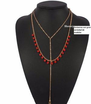 24177bae6b49 Joyeria lote de mayoreo collares pulseras aretes bisuteria en México ...
