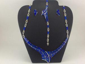 d3d622045169 Juego collar pulsera aretes de plata 925 con piedra opalo j6 en ...