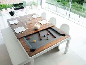 Mesas de billar jm multiples usos, en ptr y madera de cedro
