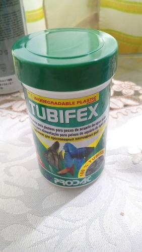 Prodac tubifex 10 gr alimento peces acuario marino dulce