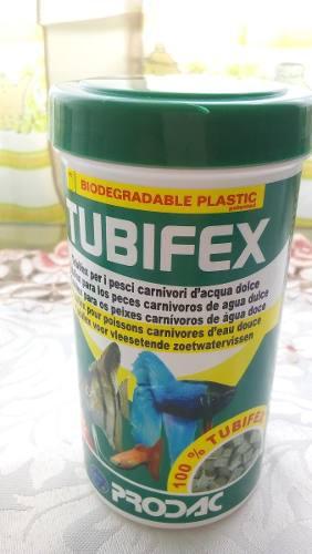 Prodac tubifex 25 gr alimento peces acuario marino dulce