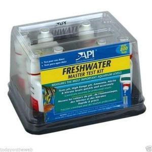 Test p/agua dulce api ph nitritos ammonia nitratos acuarios