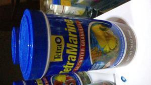 Tetramarine granulos 225 gr acuario alimento peces marino