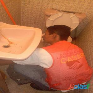Drenajes tapados, fontanero servicios garantizados