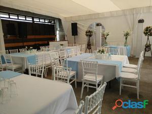 Renta de mesas con sillas para tu fiesta