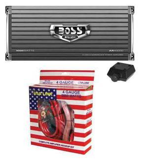 Amplificador de audio 4000 watts con kit de instalación