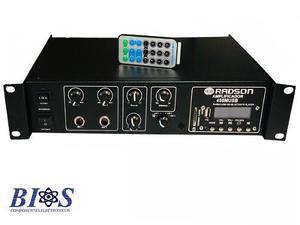 Amplificador para perifoneo 450musb amplificador escolar