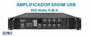 Amplificador para publidifusion radson alta potencia poder