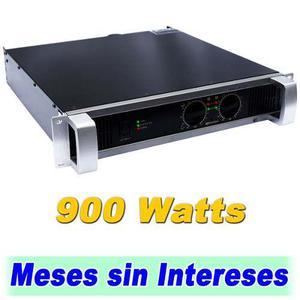 Amplificador profesional d audio 900 watts integra c. yahama
