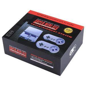 Consola de videojuegos 400 juegos clasicos precargados
