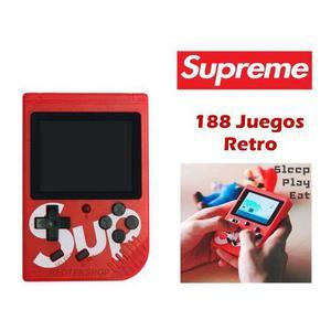 Consola de videojuegos retro portátil supreme sup x game