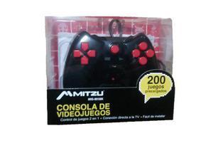Control plug & play 200 juegos conecta y juega envio gratis