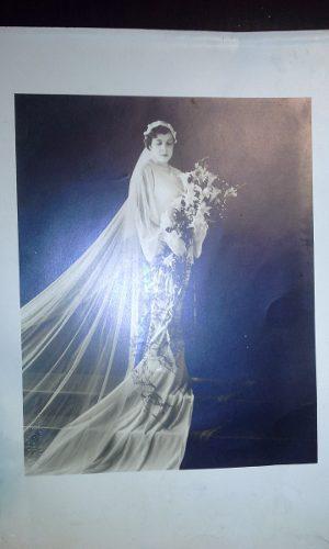 Foto antigua de boda