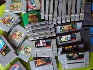 Mega lote remate videojuego nintendo nes snes n64 gamecube
