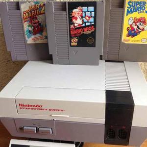 Nintendo nes videojuego mario bros paquete fenomenal