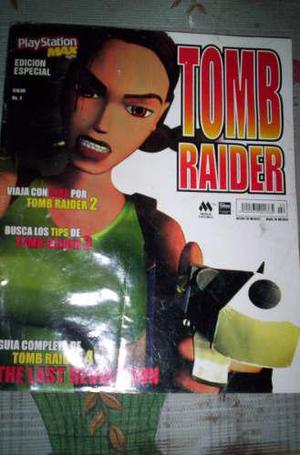Tom raider revista playstation 1 one vintage videojuegos