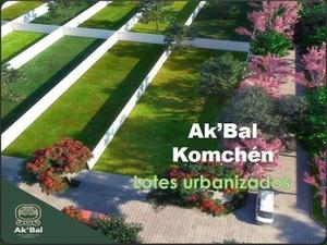 Lotes residenciales de inversion en akbal komchen progreso /