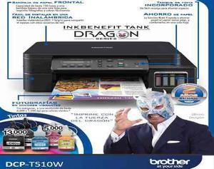 Brother multifuncional dcp-t510w sistema de tinta de