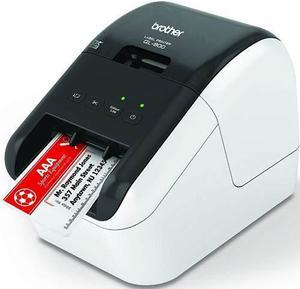 Brother ql800 impresora de etiquetas térmica rojo negro