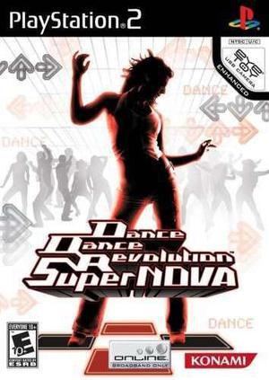 Danza danza revolución supernova - playstation 2 (juego)