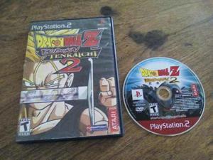 Dragon ball z budokai tenkaichi 2 playstation 2 ps2
