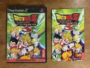 Dragon ball z budokai tenkaichi 3 completo playstation 2 ps2