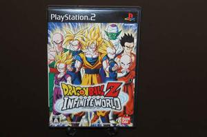 Dragon ball z infinite world para playstation 2. japones.