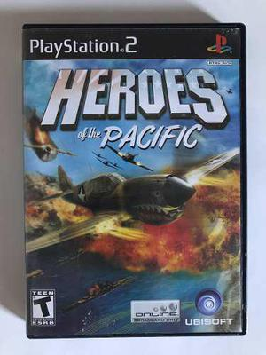Heroes of the pacific - juego de playstation 2 ps2