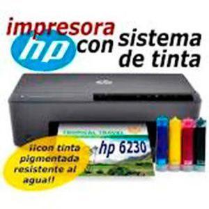 Hp 6230 impresora con sistema tinta continua enviogratis