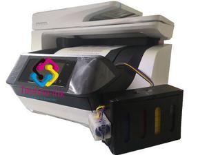 Hp officejet pro 8720 sistema de tinta cama oficio