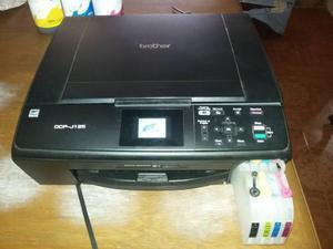 Impresora brother dcp-j125 cartuchos gigantes refacciones