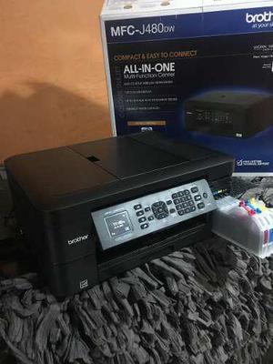 Impresora brother j460dw con sistema de tinta continuo