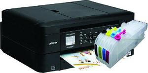 Impresora brother mfc-485dw con sistema de tinta