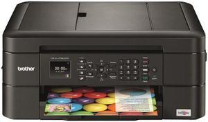 Impresora brother mfc-j480+4 tintas 100 ml +lc 203 con chip