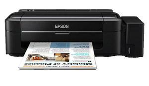 Impresora couché tinta continua carta