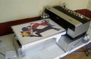 Impresora de playeras dtg 3880 tinta blanca 40 x 60cm