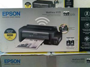 Impresora epson workforce m105 sistema continuo