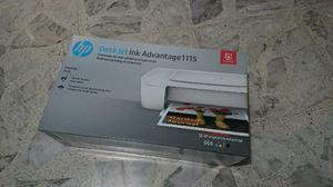 Impresora hp deskjet ink advantage 1115. nueva