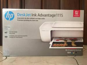 Impresora hp deskjet ink advantage 1115 nueva envío gratis