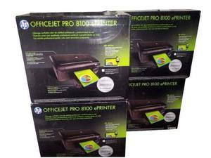 Impresora hp officejet pro 8100 totalmente completa
