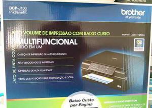 Impresora multifunci dcpj100 brother+ jgo extralarge vacios